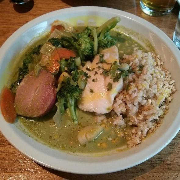 Icelandic Haddock Green Curry @ Spoonriver