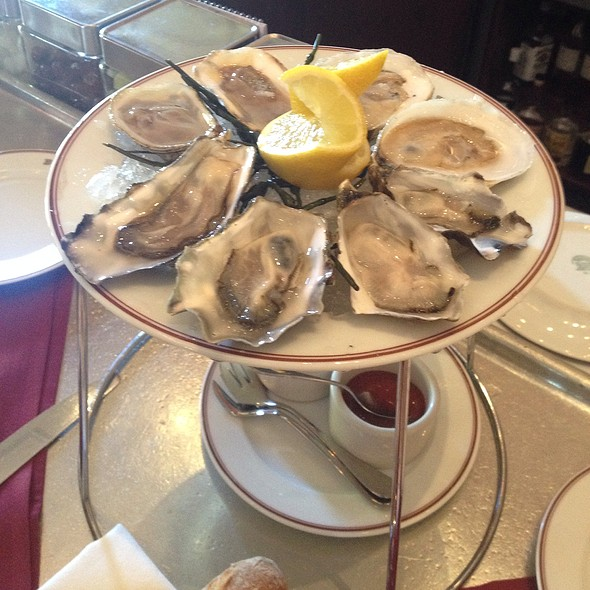 Oysters - Bouchon, Yountville, CA