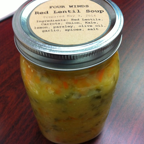 Red Lentil Soup @ Queen West Community Health Centre