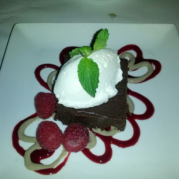 Chocolate Fudge Cake - The Metro Wine Bar & Bistro, Oklahoma City, OK