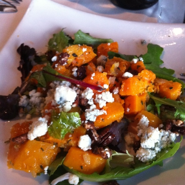 Butternut Squash, Pecans And Blue Cheese Salad