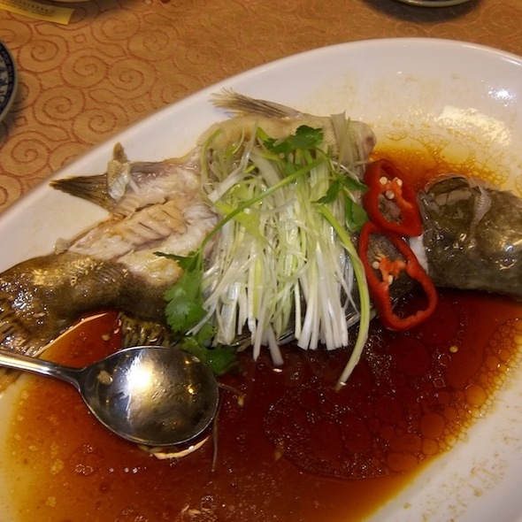 Steamed Fish With Soya Sauce @ Yi Zhi Wan