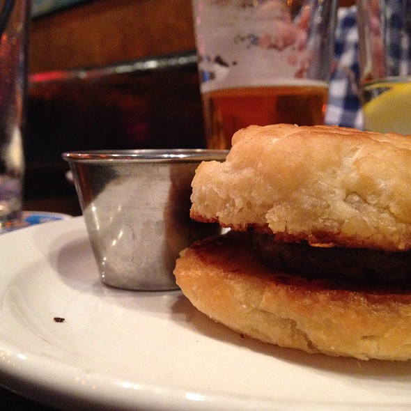 Sausage Biscuit @ Vickery Park
