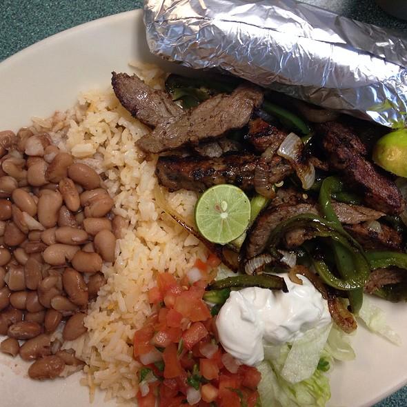 Beef Fajita Plate @ John's Backyard Grill