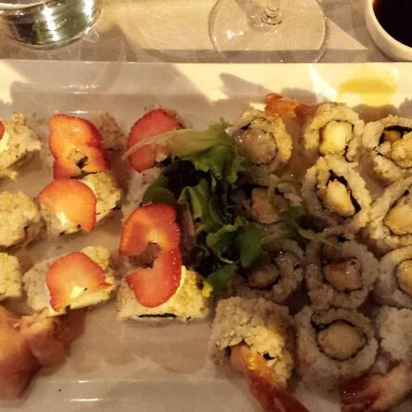 Strawberry Sushi + Futurama Sushi @ Catalina