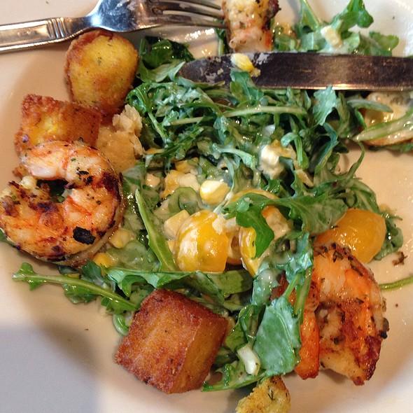 Grilled Shrimp & Arugula Salad With Sweet Corn @ Nordstrom Marketplace Cafe