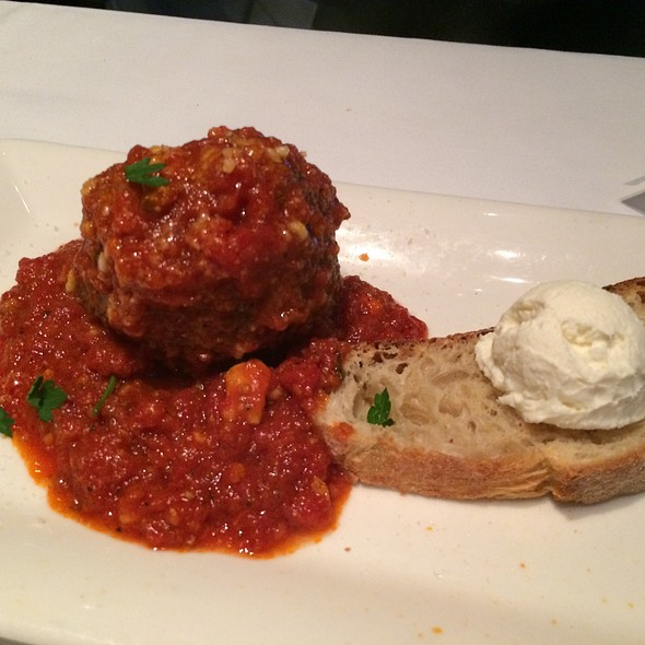 Meatball Appetizer - Martorano's Italian/American Kitchen at the Hard Rock, Hollywood, FL