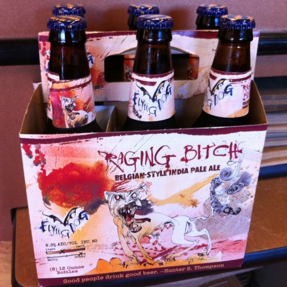 Flying Dog Raging Bitch Belgian-Style India Pale Ale @ Whole Foods Market - Kahala