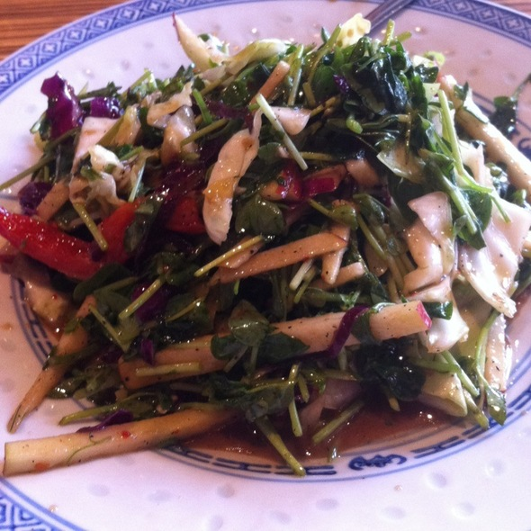 Pea Shoot Salad @ Fang Restaurant