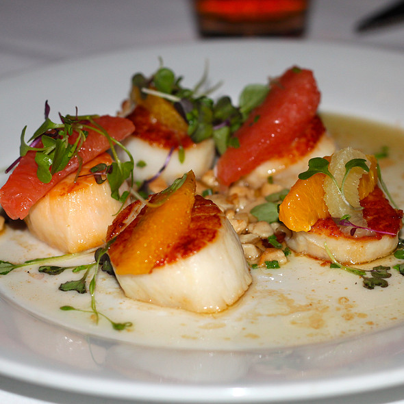 Jumbo Georges Bank Scallops - Wildfish Seafood Grille - Newport Beach, Newport Beach, CA