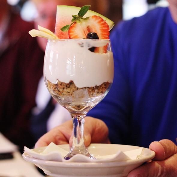 Yoghurt Parfait - Leunig's Bistro, Burlington, VT