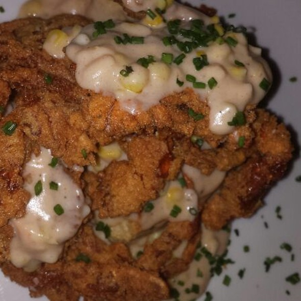 Buttermilk Fried Soft Shell Crabs, Cornmeal Biscuits