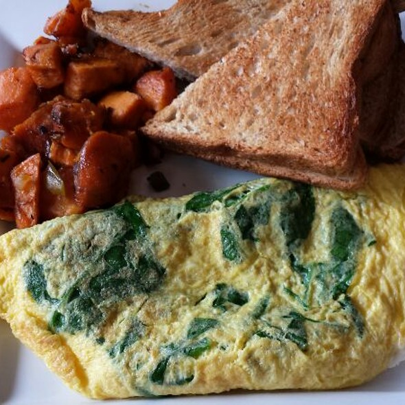 Florentine omlette - Pure Bistro, Brooklyn, NY