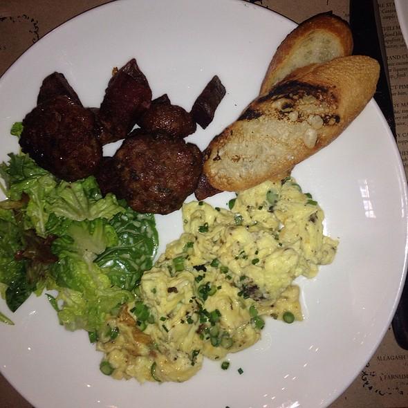 Asparagus & Mushroom Scramble