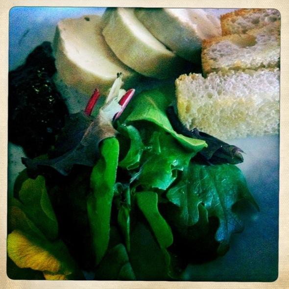 fois gras au torchon - V Restaurant, Murphys, CA