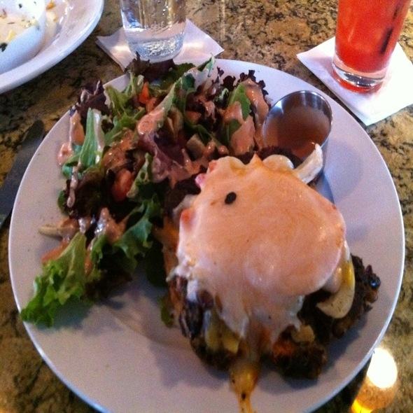 Veggie Ghetto Burger @ Hobnob Grille