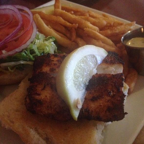 Blackened Mahi Mahi Sandwich