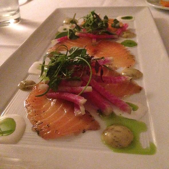 House Cured Atlantic Salmon Gravlax