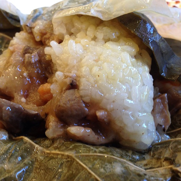 Sticky Rice in Lotus Leaf @ Saigon Seafood Harbor Restaurant