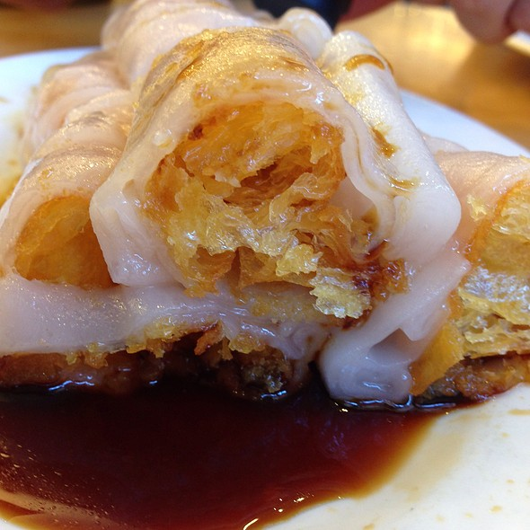 Chinese Donut Rice Roll @ Saigon Seafood Harbor Restaurant