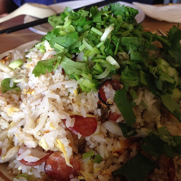 Salt Cod Fried Rice @ Mission Chinese Food