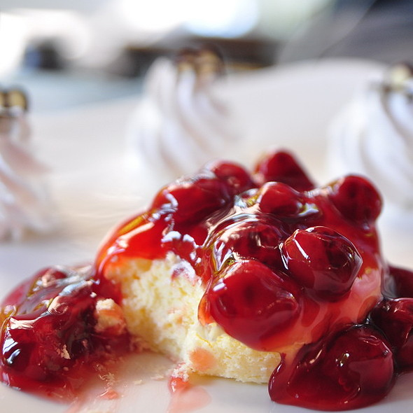 Cherry chessecake