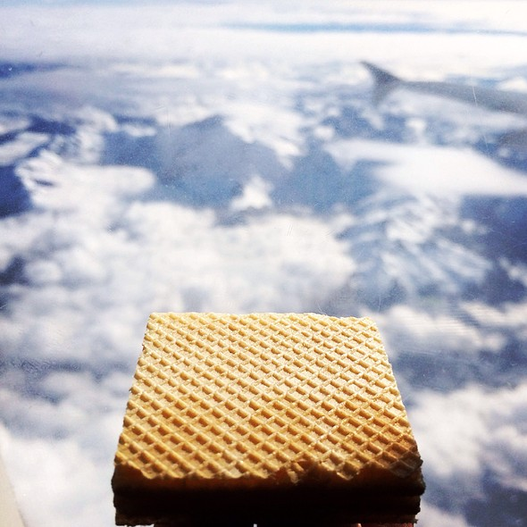 Waffle Cookie @ Lan Airlines