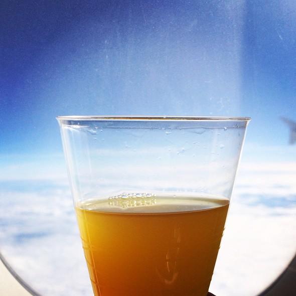 Orange Drink @ Lan Airlines