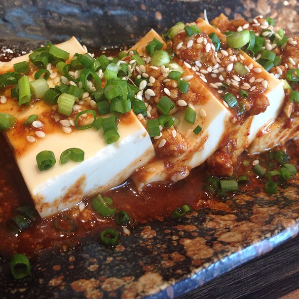 Spicy Cold Tofu @ Gyu-Kaku Japanese BBQ Dining