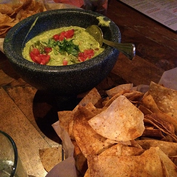 Guacamole and Chips - Rocco's Tacos & Tequila Bar - Fort Lauderdale, Fort Lauderdale, FL