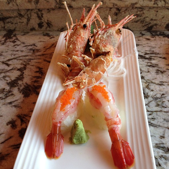 Sweet Shrimp @ Lakeview Pearl Sushi Bar & Asian Bistro