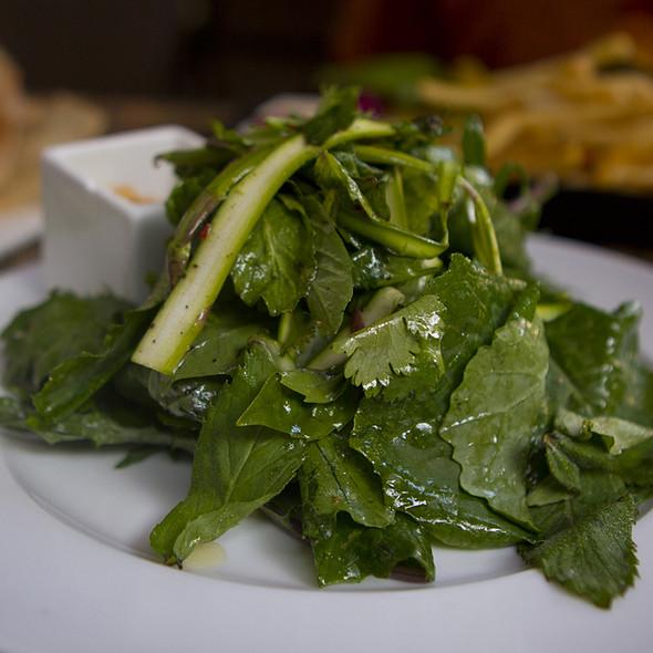 Asparagus and Kale Salad - BOKA Restaurant + Bar, Seattle, WA