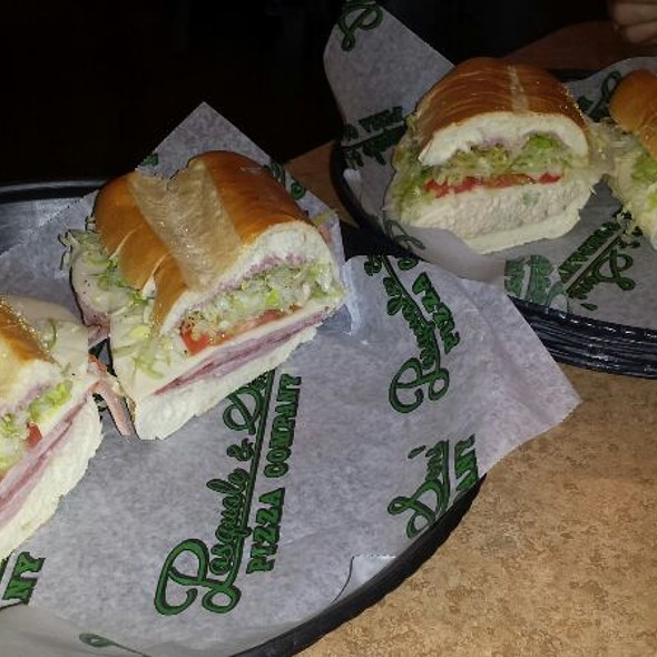 Italian and Tuna Subs @ Pasquale's Pizza & Subs