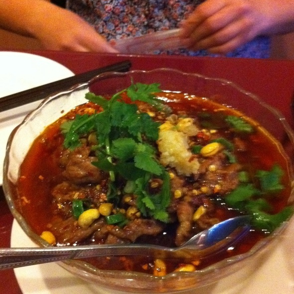 Spicy Tofu And Beef @ Spices 3 Restaurants