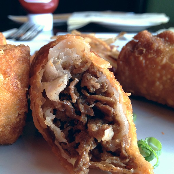Cheesesteak Egg Roll - Iron Hill Brewery - Maple Shade, Maple Shade, NJ