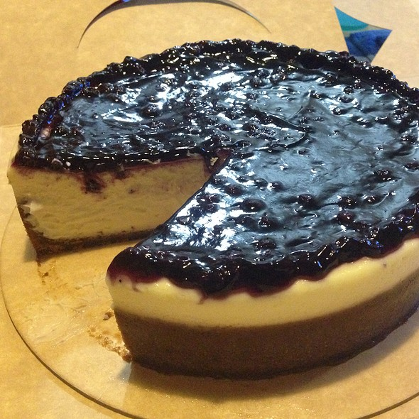 Blueberry Cheesecake @ Purple Oven