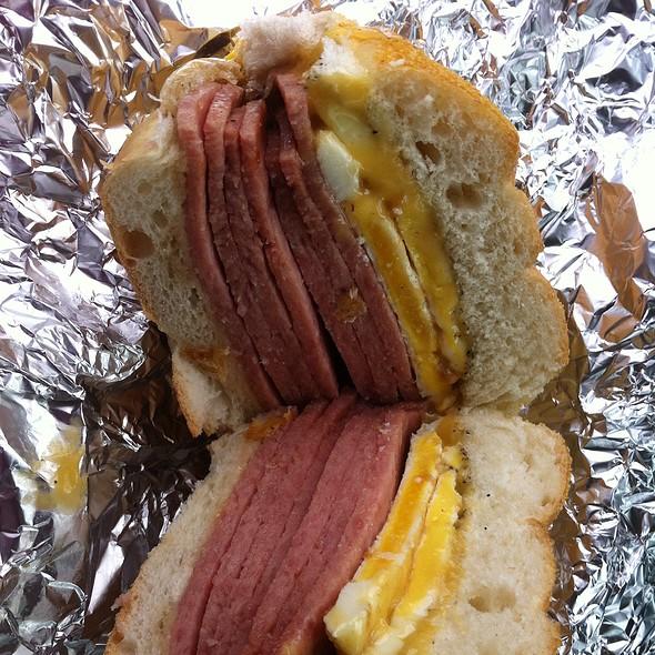 Pork Roll Egg And Cheese @ Slater's Deli 2