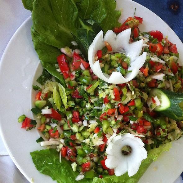 Hummus And Salads @ Abu Gosh