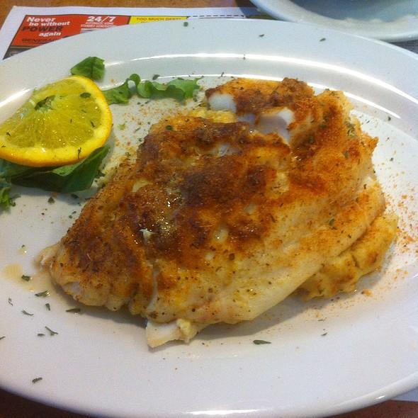 Cajun Stuffed Haddock