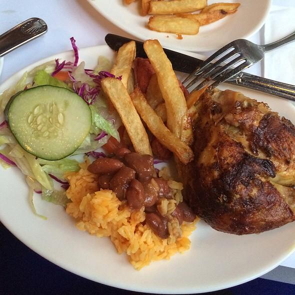 Chicken Rotisserie Plate