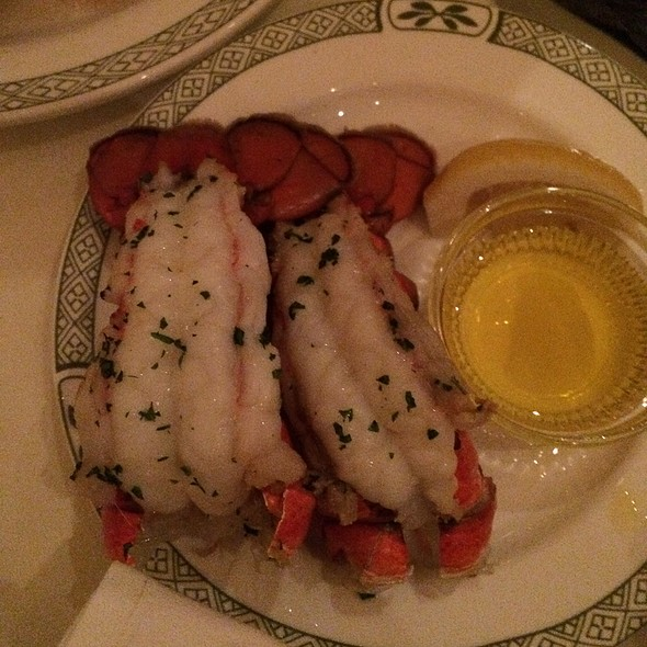 Lobster tails - Lawry's The Prime Rib - Beverly Hills, Beverly Hills, CA
