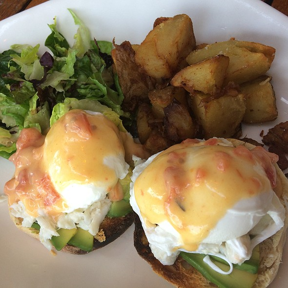 Crab And Avocado Eggs Benedict