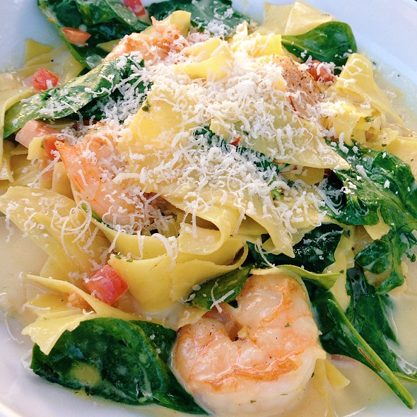 Scallop And Shrimp Over Pasta - Andora Sewickley, Pittsburgh, PA