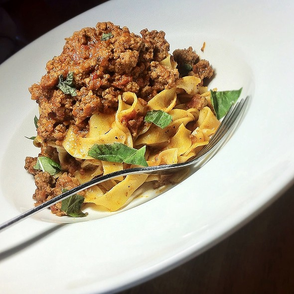 Beef & Prosciutto Bolognese @ Westside Tavern