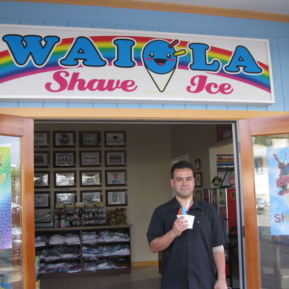 Shave Ice @ Waiola Shave Ice
