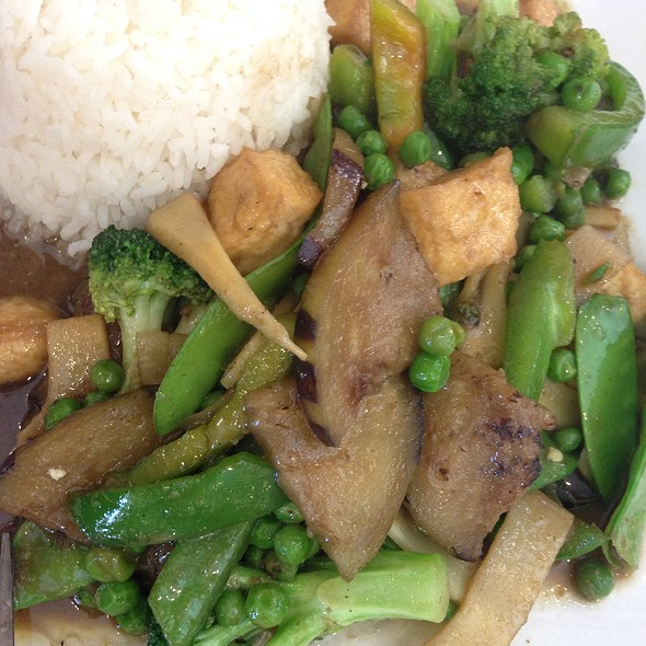 Green Curry with Tofu @ Orchid Cafe