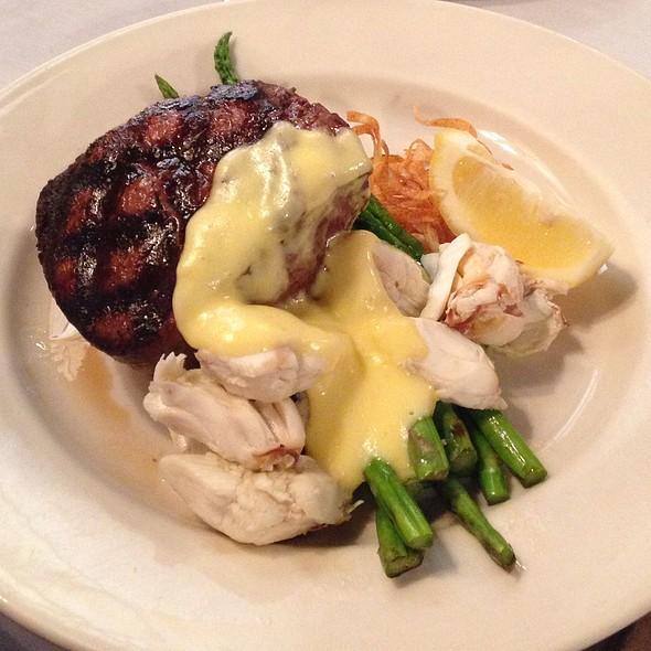 Steak Oscar @ Library Restaurant