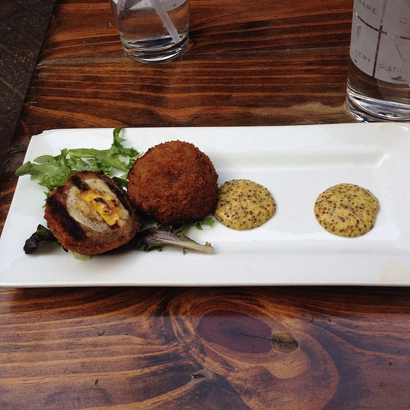 Scotch Eggs - Square One Brewery & Distillery, St. Louis, MO