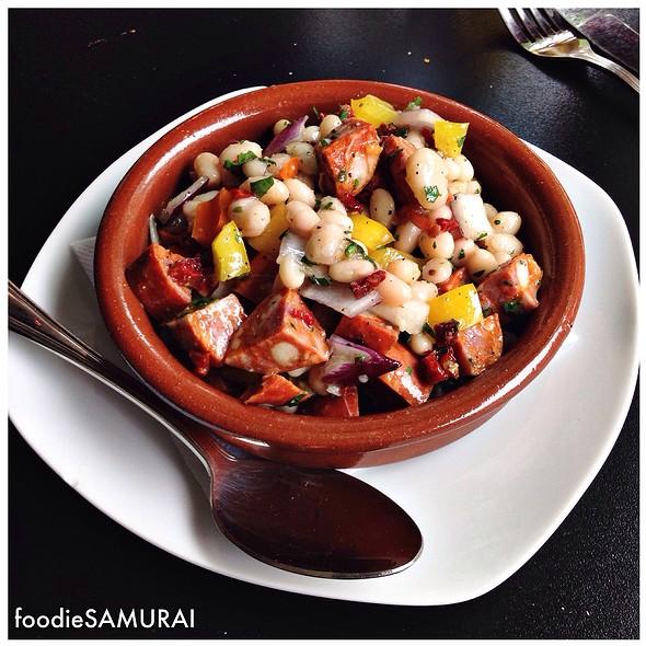 Alubias Con Chorizo @ Patrias Ceviches & Tapas