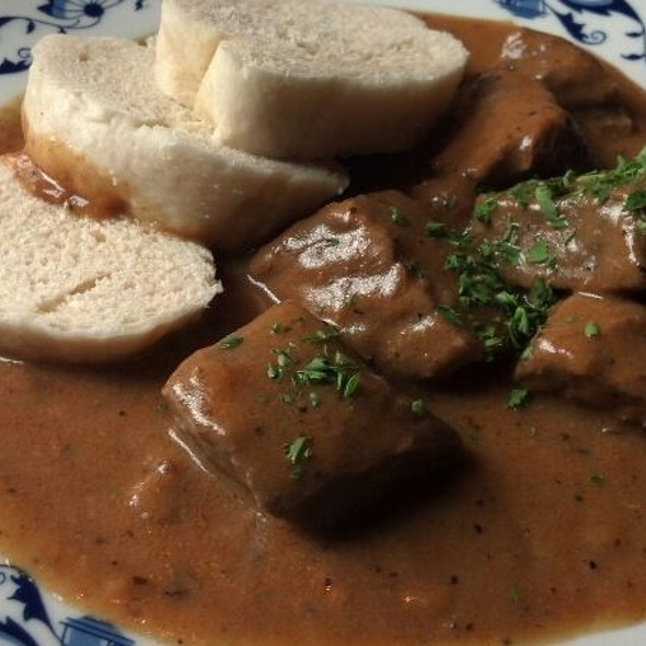 Goulash With Czech Dumplings @ The Bavarian Inn Lodge & Restaurant
